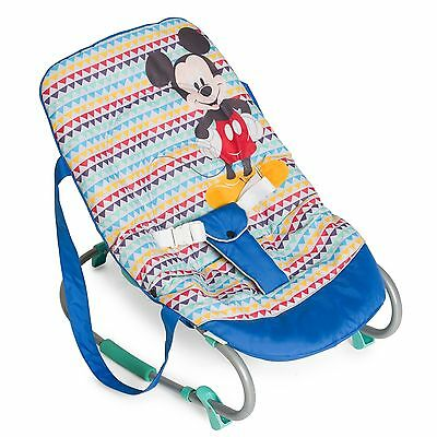 Hauck Disney Babywippe Rocky Mickey Geo Blue TOP