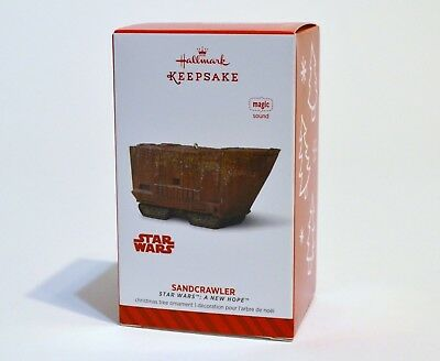 Star Wars SANDCRAWLER 2014 Hallmark Keepsake Ornament Magic Sound