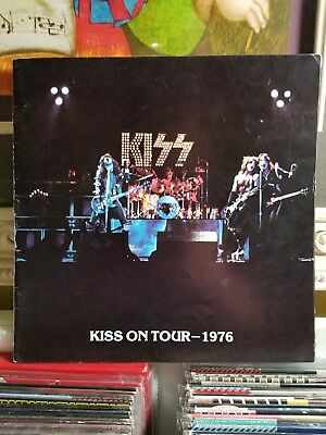 Kiss 1975 Alive Tour Book With Insert!!!
