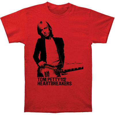 Tom Petty Men's  Damn The Torpedoes Slim Fit T-shirt Red