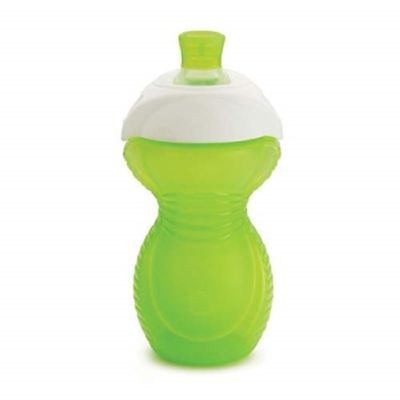 Munchkin Click Lock Chew Proof Sippy Cup 296ml Green 1 2 3 6 12 Packs