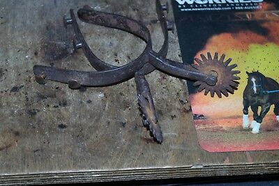 Authentic Hand Made Spurs Late 1800's Worn By Real Working Florida Cowboys