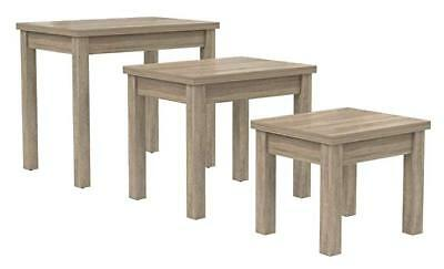 Desire Sonoma Oak Nest Of Tables Set of 3