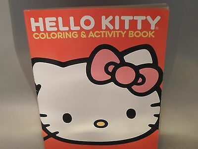 Hello Kitty Coloring & Activity Book Brand New Red Cover 2012 Hours Of Fun!  TC4
