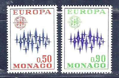 Monaco 831-832 unused hinged - 1972 Europa