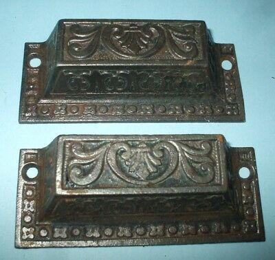 Antique Vintage Eastlake Drawer Pulls Lot 2