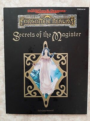 Forgotten Realms Secrets of the Magister (AD&D)