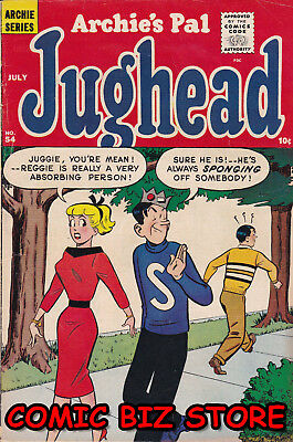 Archie's Pal Jughead #54 (1959) Silver Age 1St Printing  Vg+ 5.0