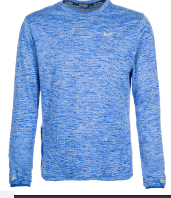 Men/'s Nike Therma Sphere Element Long Sleeve Running Top Size Large 807453 010