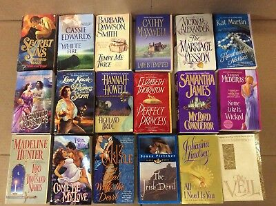 Lot of 50 HISTORICAL ROMANCE Paperback Book Popular Authors Love MIX-UNSEARCHED