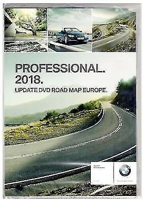 BMW 2018 Professional Navigation Maps Europe Sat Nav Disc DVD - FULL EUROPE