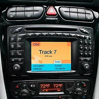Mercedes Comand 2.0 Sat Nav Disc Navigation Cd Mfd1 C Class, Cl, Clk, E, G, Ml,s