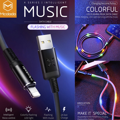 Mcdodo iPhone 8 iPhone 7 Plus 6 5 USB Lightning Charger Cable Charging Data Cord