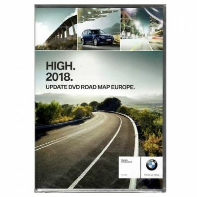 BMW 2018 High Navigation Maps Europe Sat Nav Disc DVD 1/3/5/6/X5/X6 EAST or WEST
