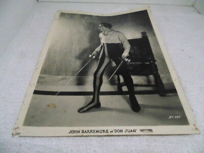 Don Juan 1926 Silent Movie 8x10 Black And White Movie Photo