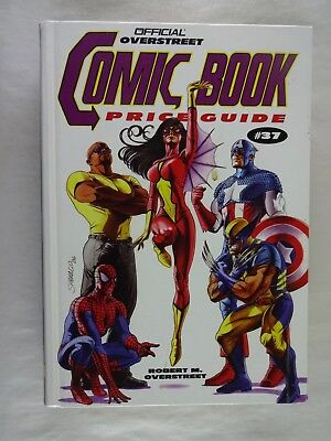 Official Overstreet Comic Book Price Guide 37th Edition  Gemstone Publishing
