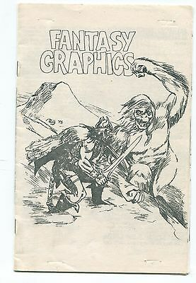 """Fantasy Graphics"" Vol. 1 No. 1 / CONAN THE BARBARIAN  / FAN-PUBLISHED COMIC"