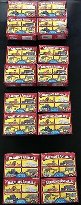(4 PACK) Nabisco Barnums Animal Crackers Box Cage Unopened Discontinued