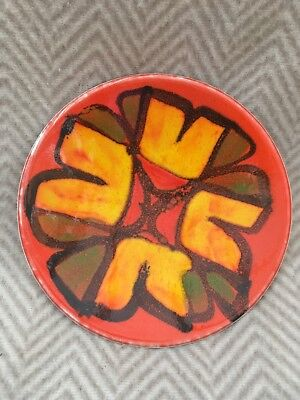 Poole Pottery Delphis Studio Pin Tray Shape 49 Signed Lynn Gregory 1970s