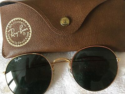 Vintage Ray-Ban Round Lens Sunglasses w/Case