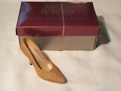 Just the Right Shoe 'Golden Stiletto'