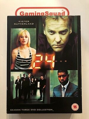 24 - Season 3 Collection BOXSET DVD, Supplied by Gaming Squad Ltd