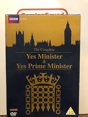 Complete Yes Minister & Yes Primeminister BOXSET DVD, Supplied by Gaming Squad