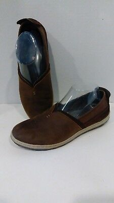Merrel Ashland Brown Sugar Slip On Casual Loafers Women's Size 9 Suede Leather
