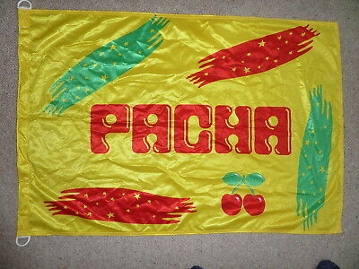 Genuine Ibiza Pacha Flag 2001 Measures 98CM x 68CM