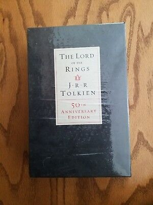 The Lord of the Rings (50th Anniversary Edition) By J R R Tolkien NEW