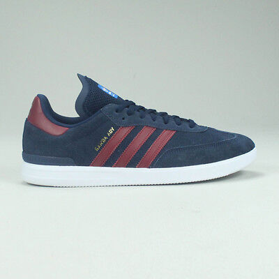 100% top quality best quality sold worldwide ADIDAS SAMBA ADV Skate Trainers Shoes Navy/Burgundy new in ...