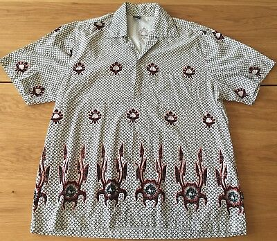 Town & Country Surf T&C Hawaii Vintage Shirt Rare Size XL Original Tribal Tattoo