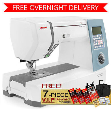 Janome Memory Craft 8900 Sewing Machine w/ 7-Piece VIP Package + Overnight Ship