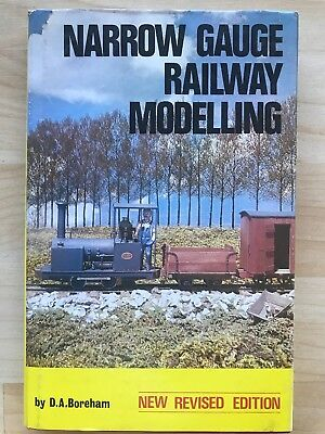 Narrow Gauge Railway Modelling Book By D A Boreham New Revised Edition 1978