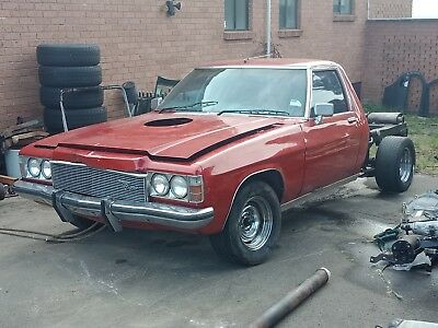 Holden Hz 1 Ton L31,m41,dual Fuel Tanks,gts Dash Has Rust,may Consider Wrecking