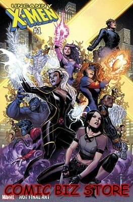 Uncanny X-Men #1 (2018) 1St Printing Scarce 1:50 Cheung Variant Cover Marvel