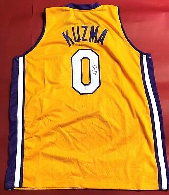 44a720d3d5d NBA NIKE KYLE Kuzma Los Angeles Lakers Statement Autographed ...