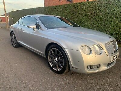 Bentley Continental GT 6.0 W12 Twin Turbo silver Coupe