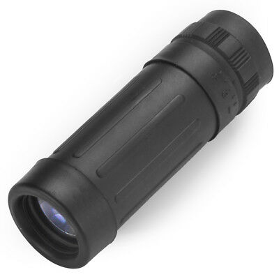 Compact Pocket 8x21 Monocular with Carry String, Travel Pouch