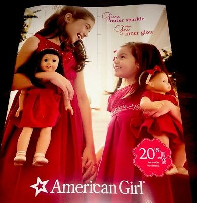 American Girl 2018 Catalog with Holiday Items! Great Outfits!  New Play Sets!