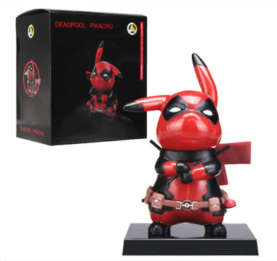 Cartoon Action Figure Pikachu Deadpool Collectible Model Soldier Toy Soldier