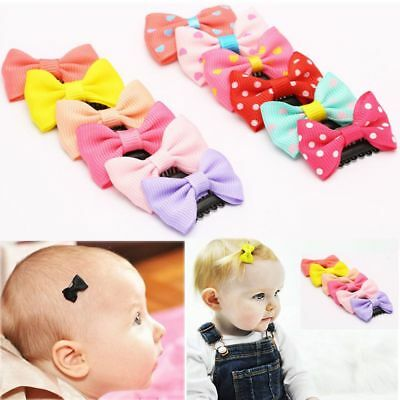 Accessories Newborn Girl's Fashion Mini Hair Clip Headwear Bow Baby Hairpin