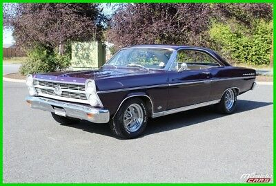 1966 Ford Fairlane 351C V8, Manual Top Loader 4-Speed, Parchment Bucket Interior 1966 Ford Fairlane 500