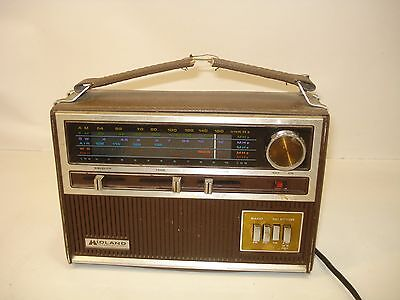 Midland 10-545 FM AM Shortwave Air PBH Weather Aircraft Band Portable Radio