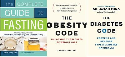 Guide to Fasting + Obesity & Diabetes Code -  Dr. Jason Fung - 3 (E-B00K, PDF)