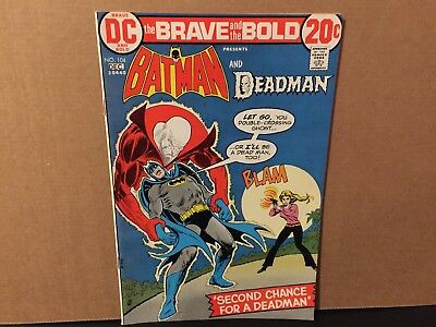 Brave and the Bold Batman Deadman 104 High Grade DC Comics Combine Shipping