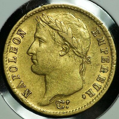 1813 A 20 Francs Gold France Coin