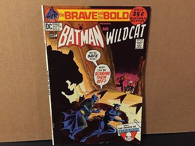 Brave and the Bold 97 Batman Wildcat High Grade DC Comics Combine Shipping