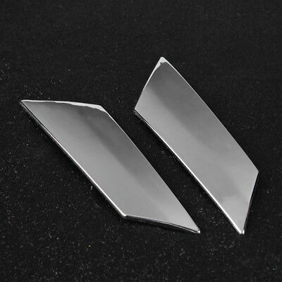 2x Chrome Rear Tailgate Molding Strip Trim For Mercedes Benz S Class W222 14-18