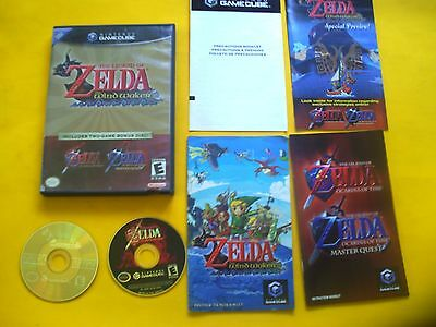 Legend of Zelda: The Wind Waker (Nintendo GameCube, 2003) / master quest combo